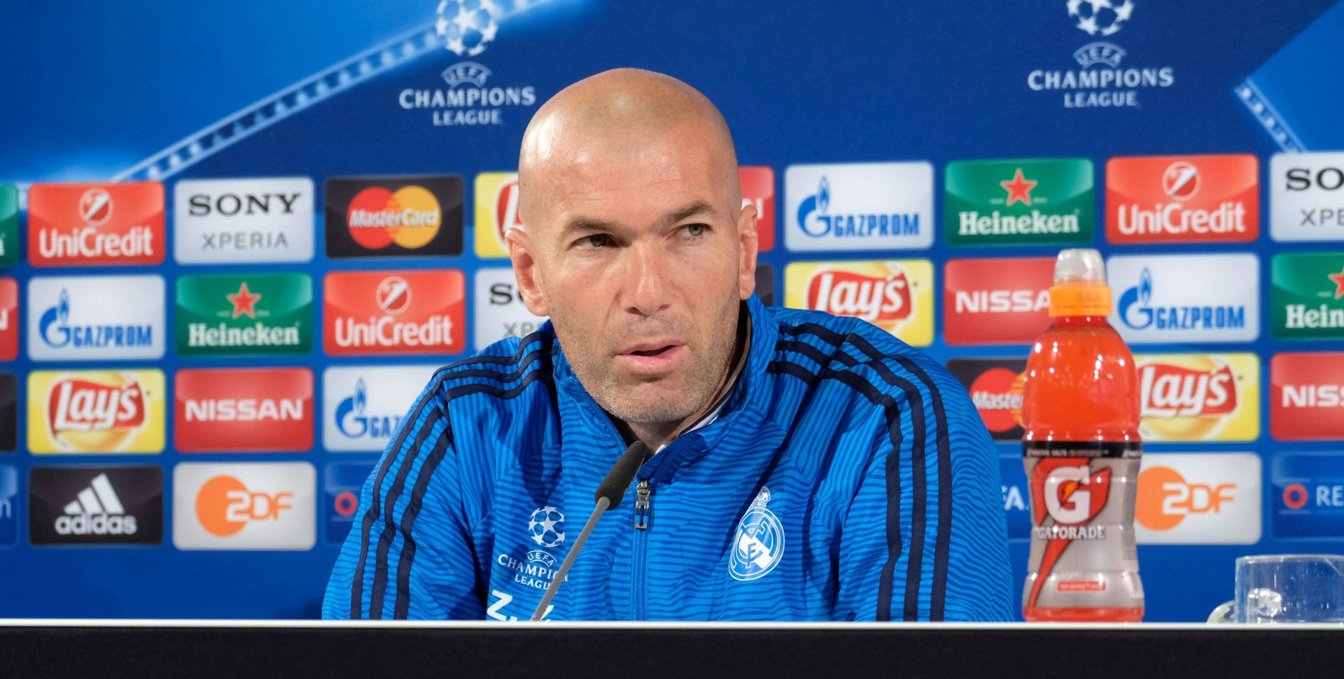 "VIDEO: ZIDANE PONOSAN NA MOMČAD NAKON PORAZA ""Mi smo Real Madrid i sposobni smo za velike stvari"""