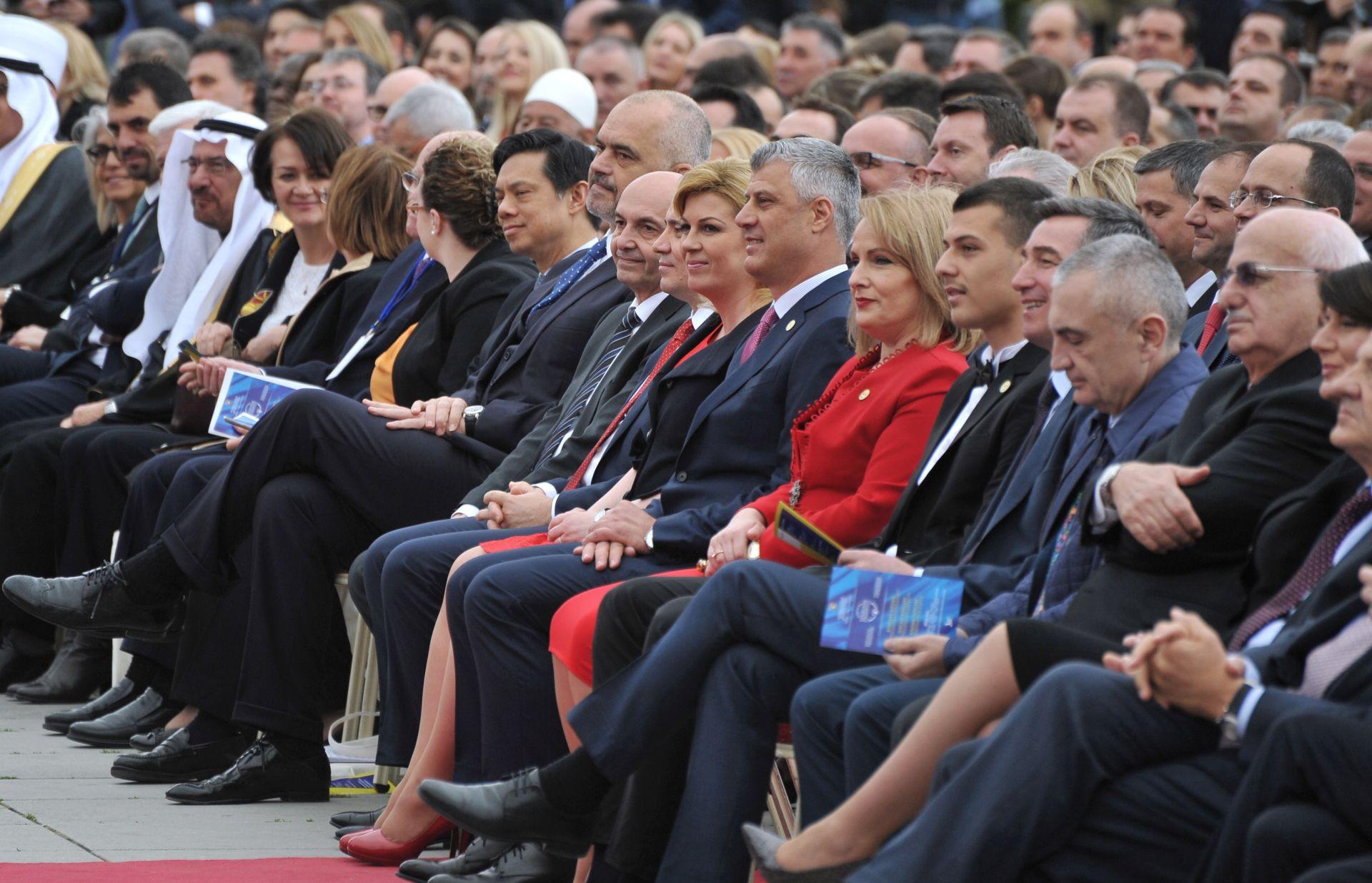 PRIŠTINA Predsjednica na inauguraciji kosovskog predsjednika Hashima Thaçija