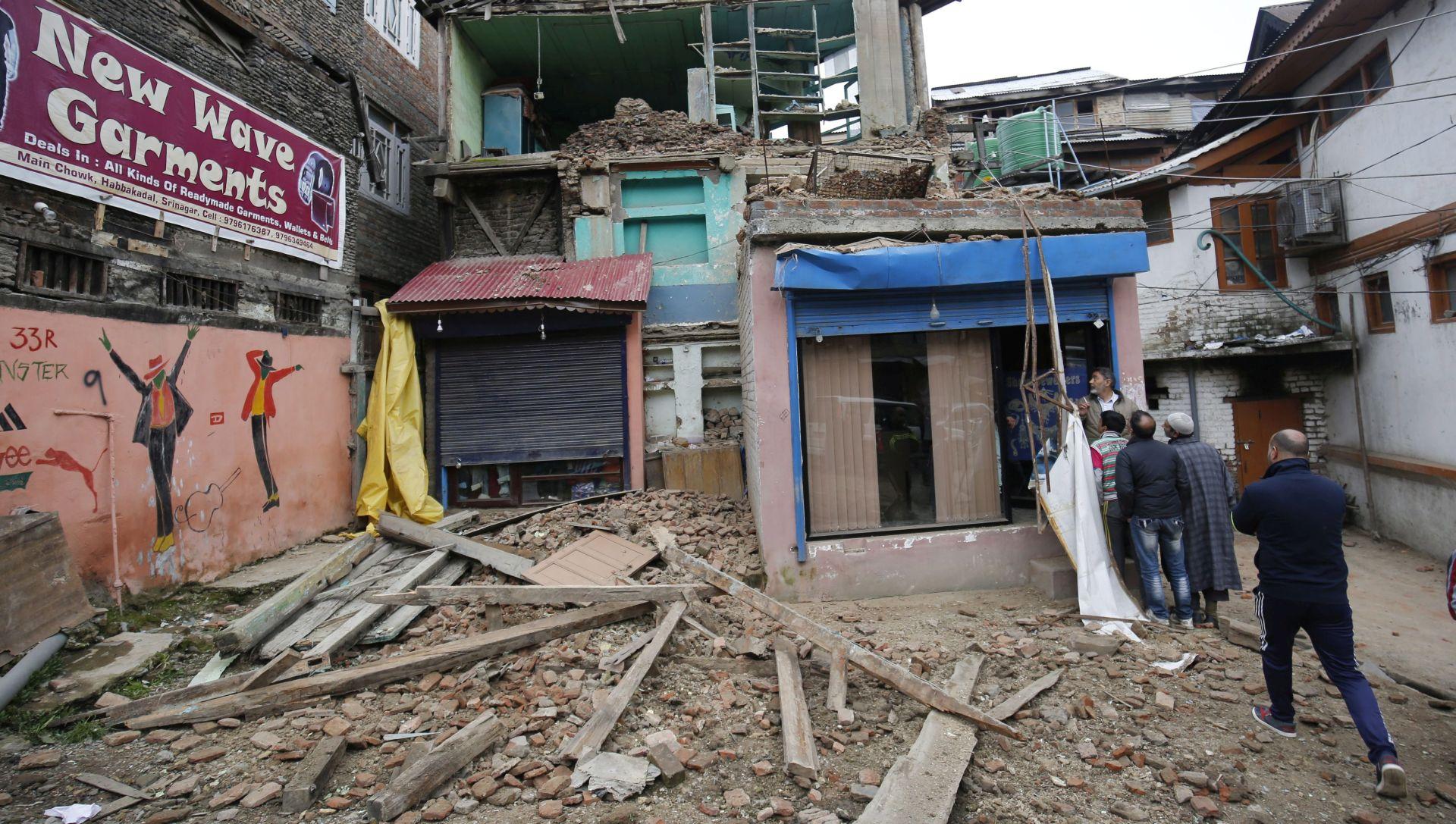 EPICENTAR U PLANINAMA KUSH Potres magnitude 6.6 osjetio se u Afganistanu, Pakistanu i Indiji