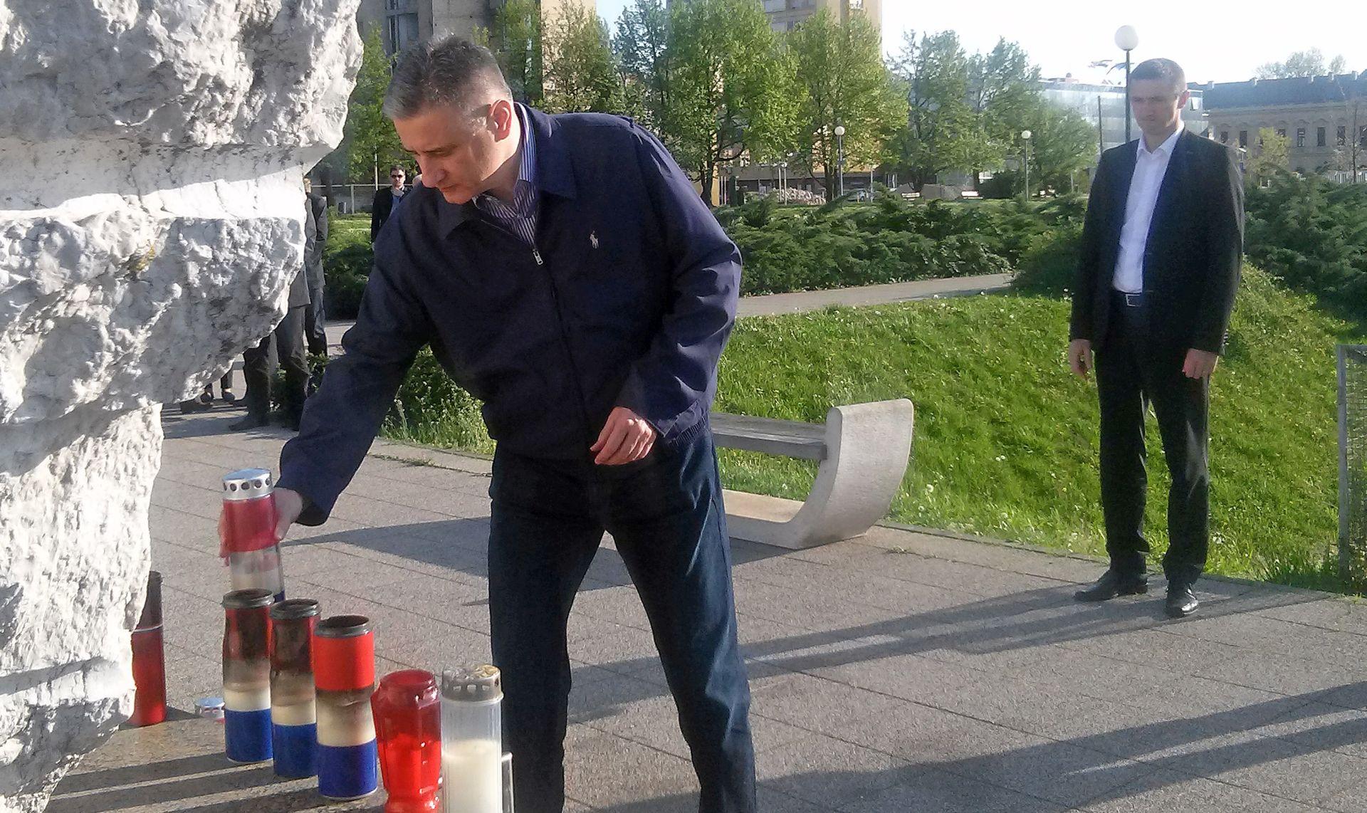 Karamarko u Vukovaru: Žrtve se doista moraju poštovati