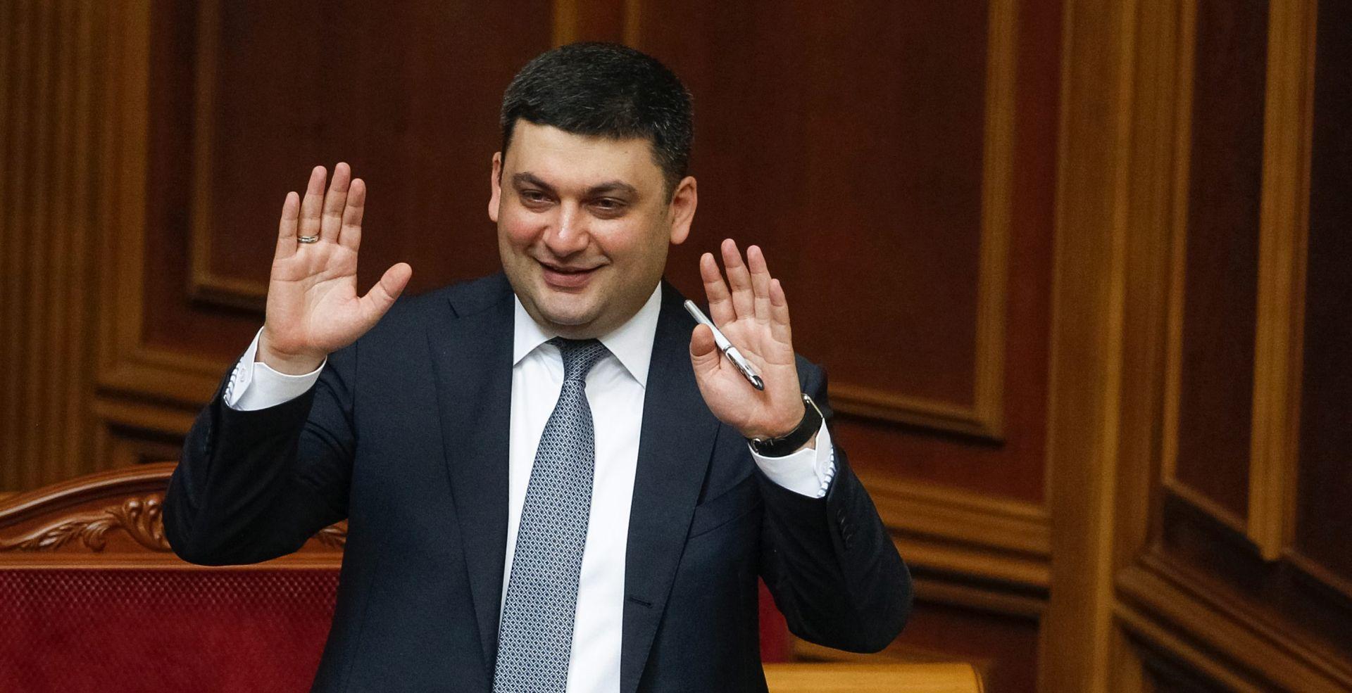 UKRAJINA Volodomir Grojsman potvrđen kao novi premijer