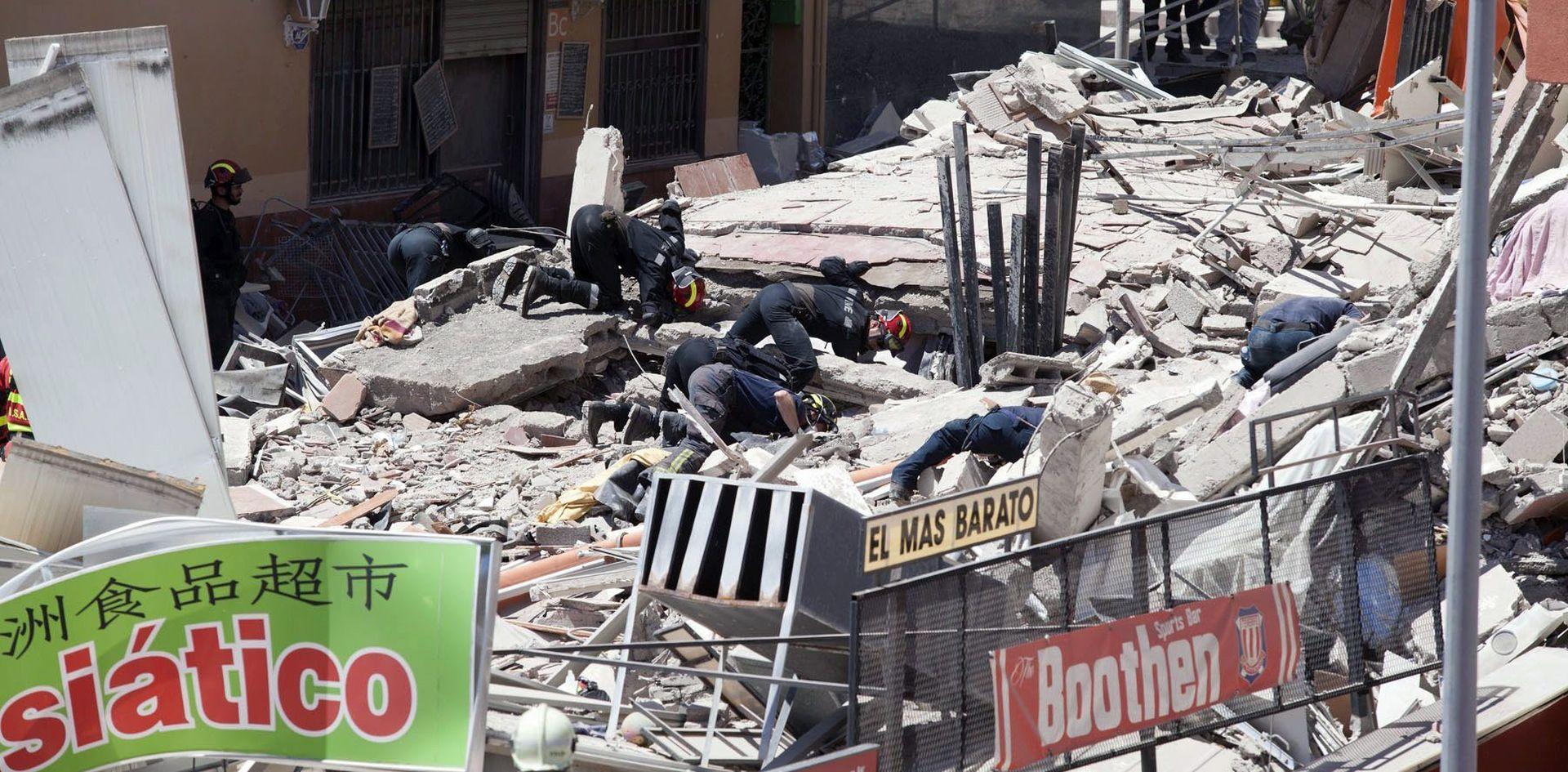 BROJ ŽRTAVA RASTE U urušavanju zgrade na Tenerifima poginulo sedam osoba