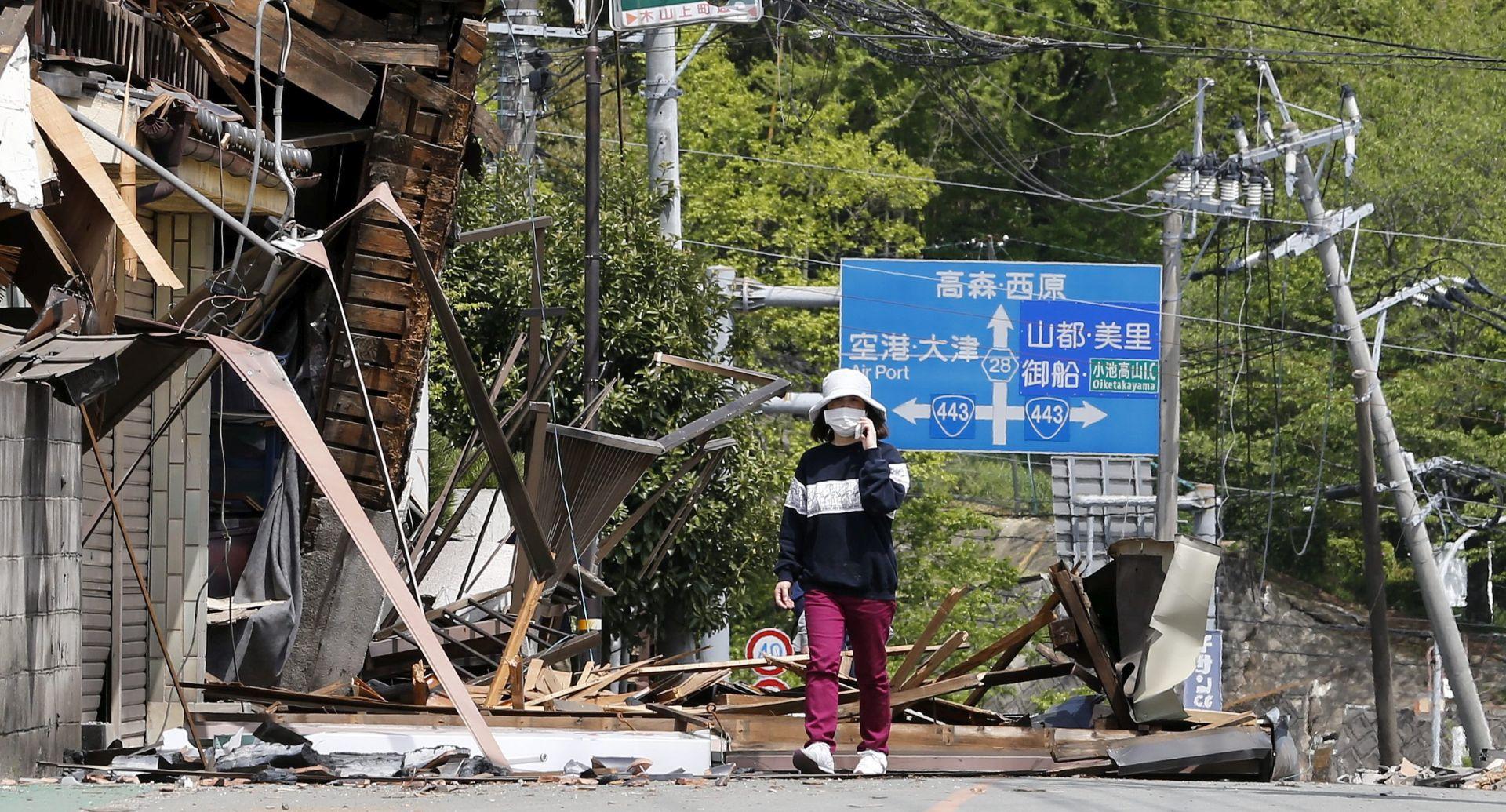 Najmanje 41 žrtva niza potresa u Japanu