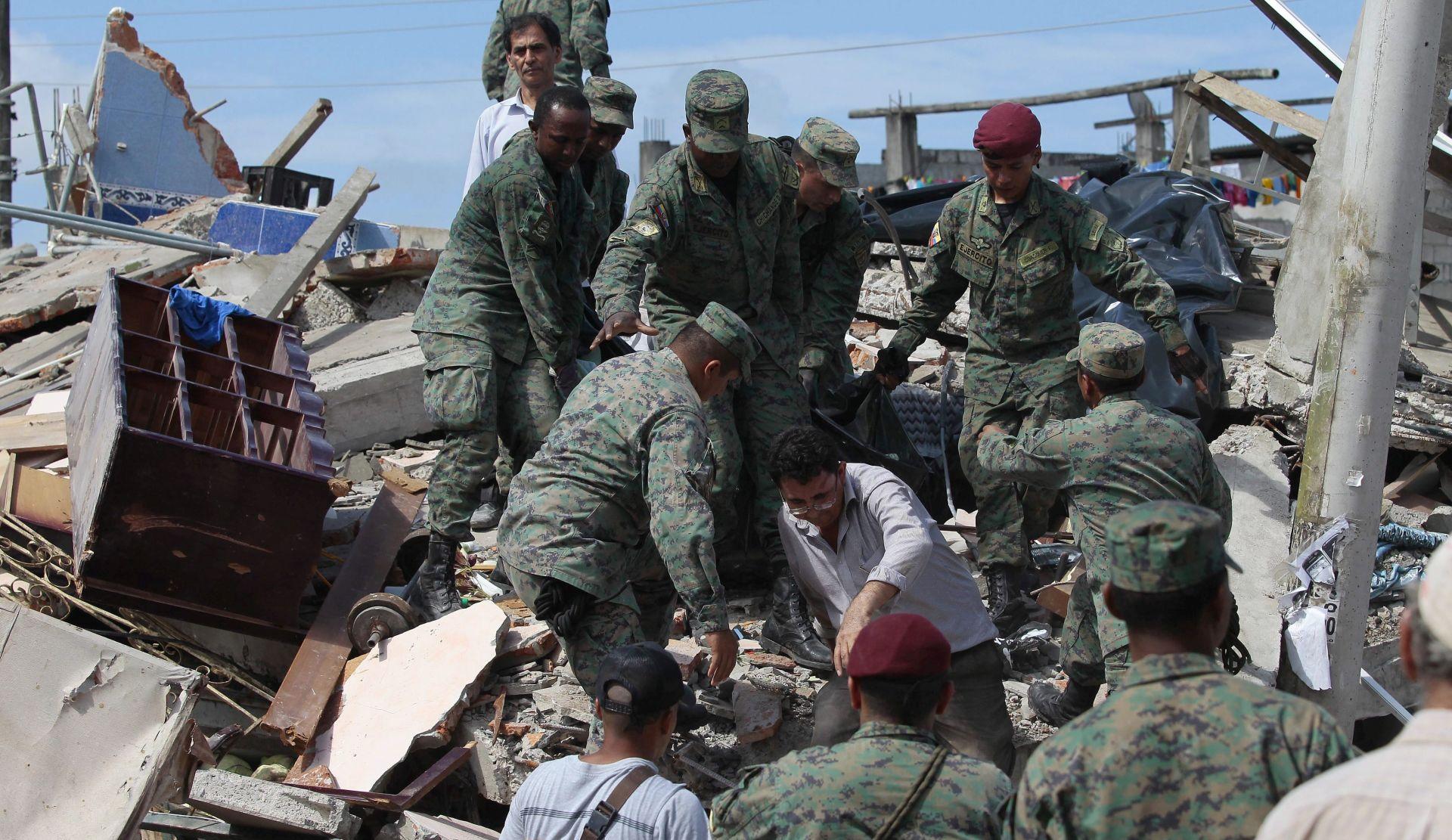 NOVI POTRES U EKVADORU: Broj mrtvih  prešao 500
