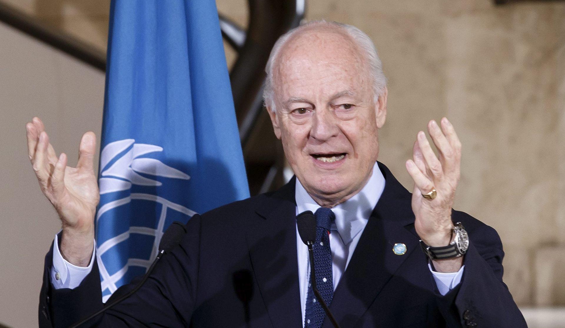 IZVJESTITELJ UN-a ZA SIRIJU: Razgovori SAD-a i Rusije su ključni za primirje