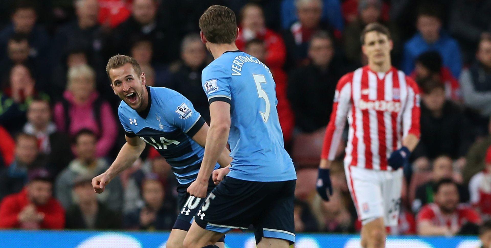 SPURSI SE VRATILI NA -5 Tottenham 'četvorkom' prošao Stoke, Kane i Alli dvostruki strijelci