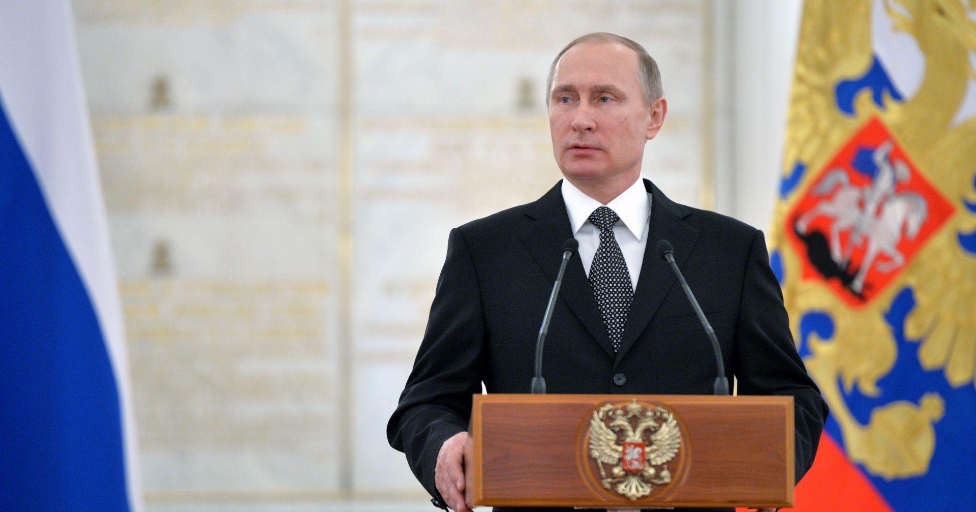 """Putinov neslužbeni posjet Sloveniji trebao bi proteći u znaku zagovaranja """"svjetskog mira"""""""