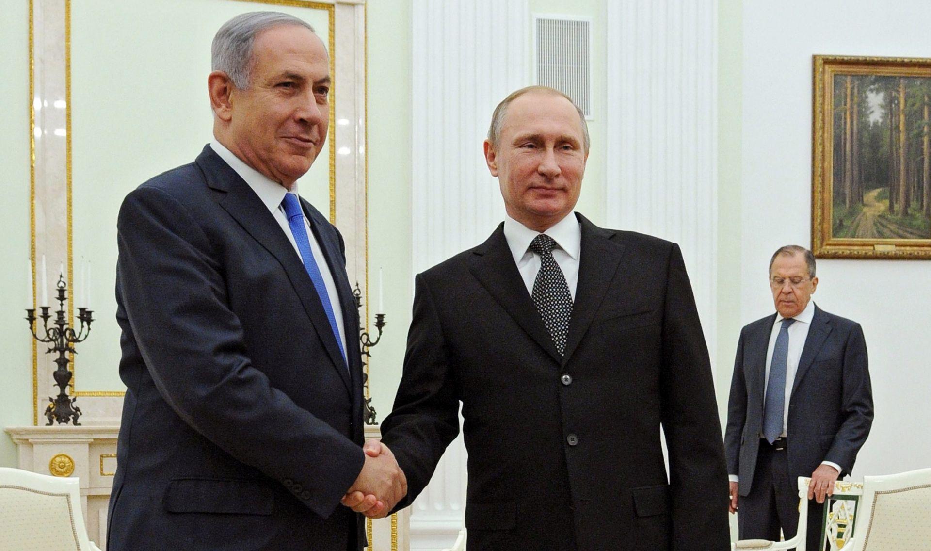 Putin i Netanyahu u Moskvi razgovarali o Siriji