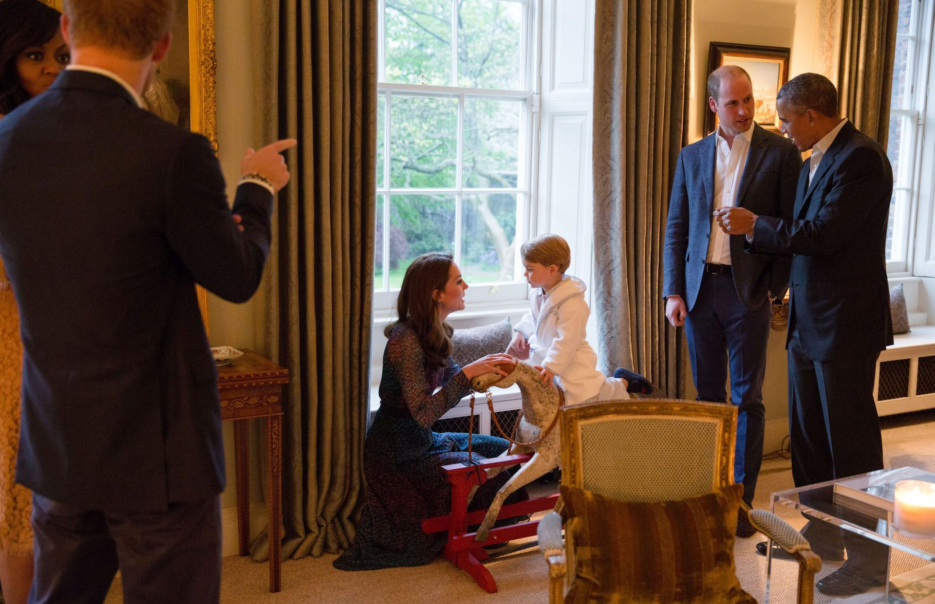 EPA/PETE SOUZA / PRESS ASSOCIATION / KENSINGTON PALACE
