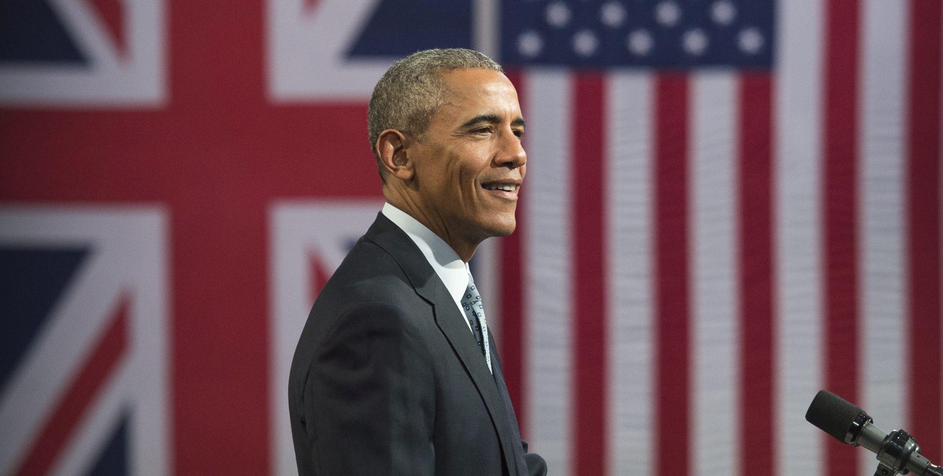 Obama posjetio Shakespearovo kazalište u Londonu