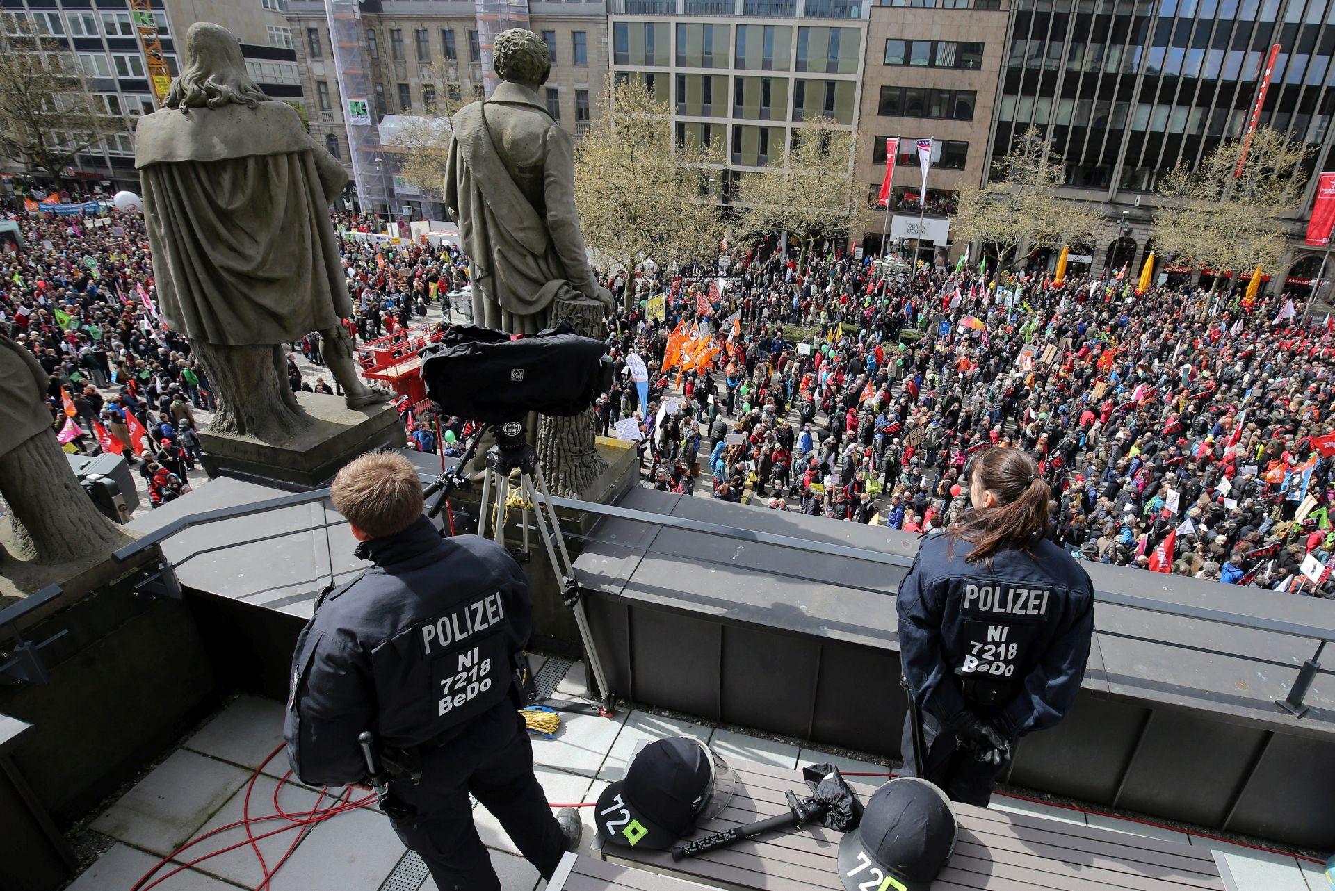 Na prosvjedu protiv TTIP-a u Hanoveru do 50.000 ljudi