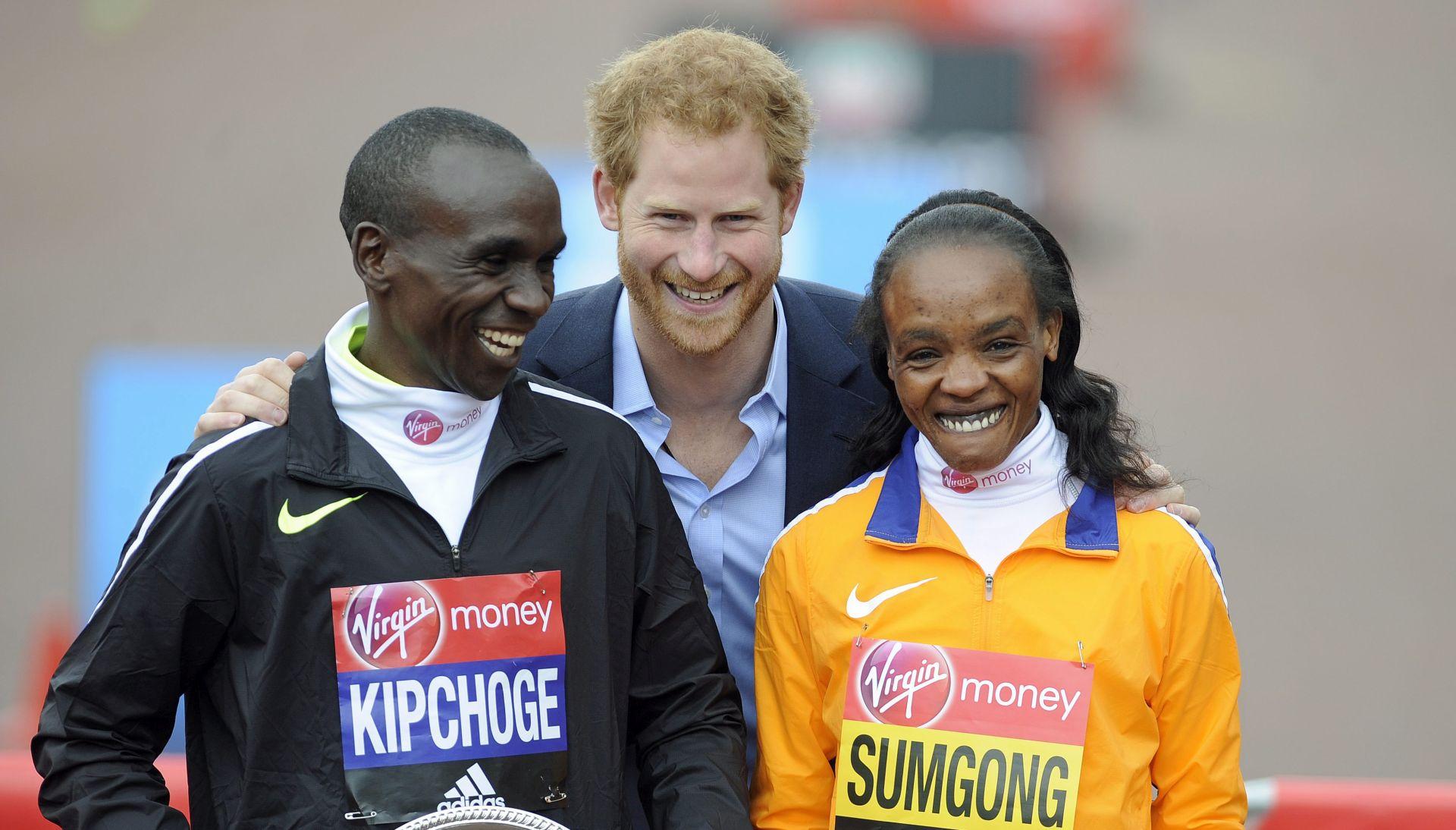 LONDONSKI MARATON Slavlje Kenijaca Kipchoge i Jemme Sumgong