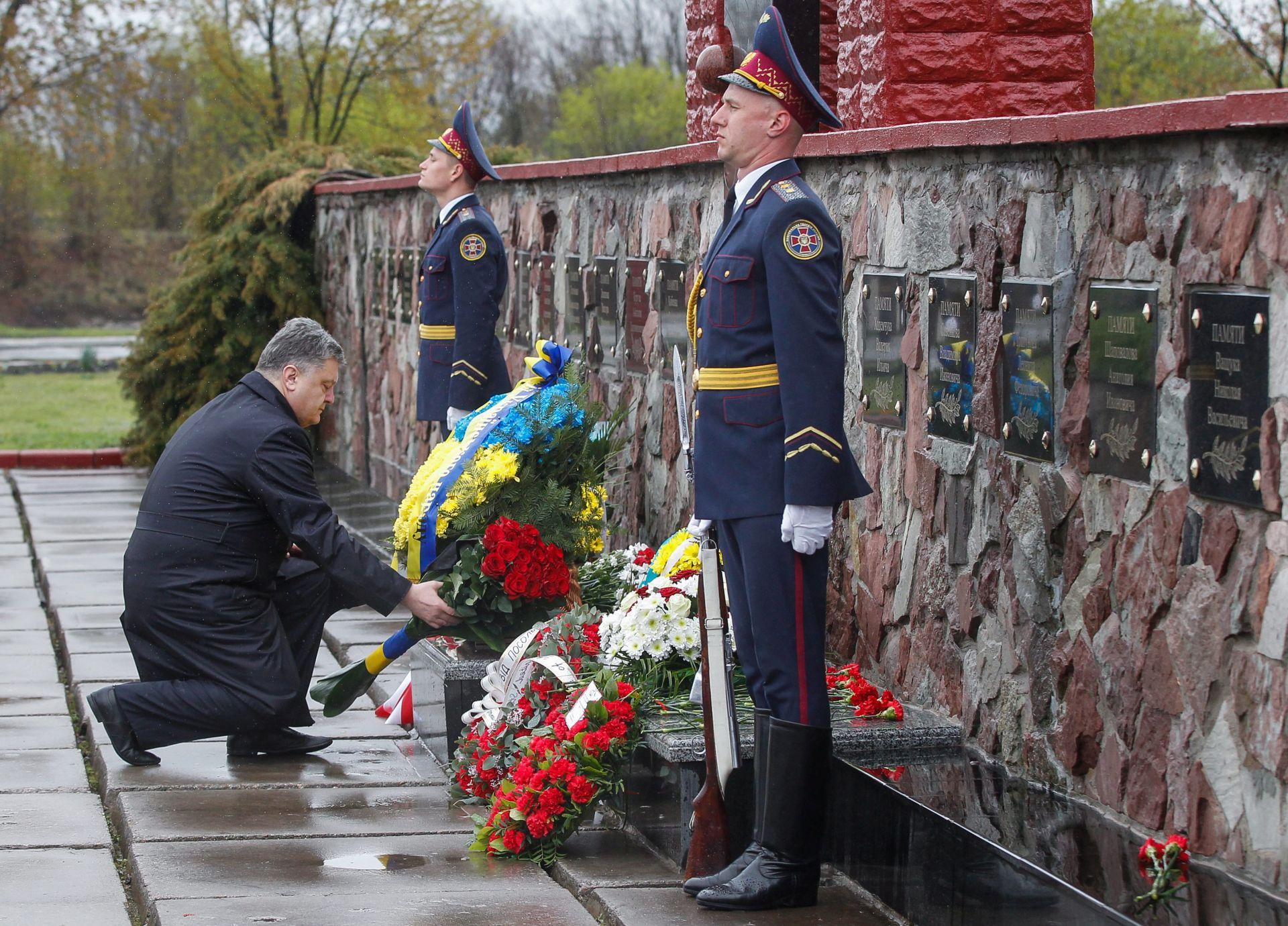 Porošenko kaže da nisu poznate sve posljedice katastrofe u Černobilu