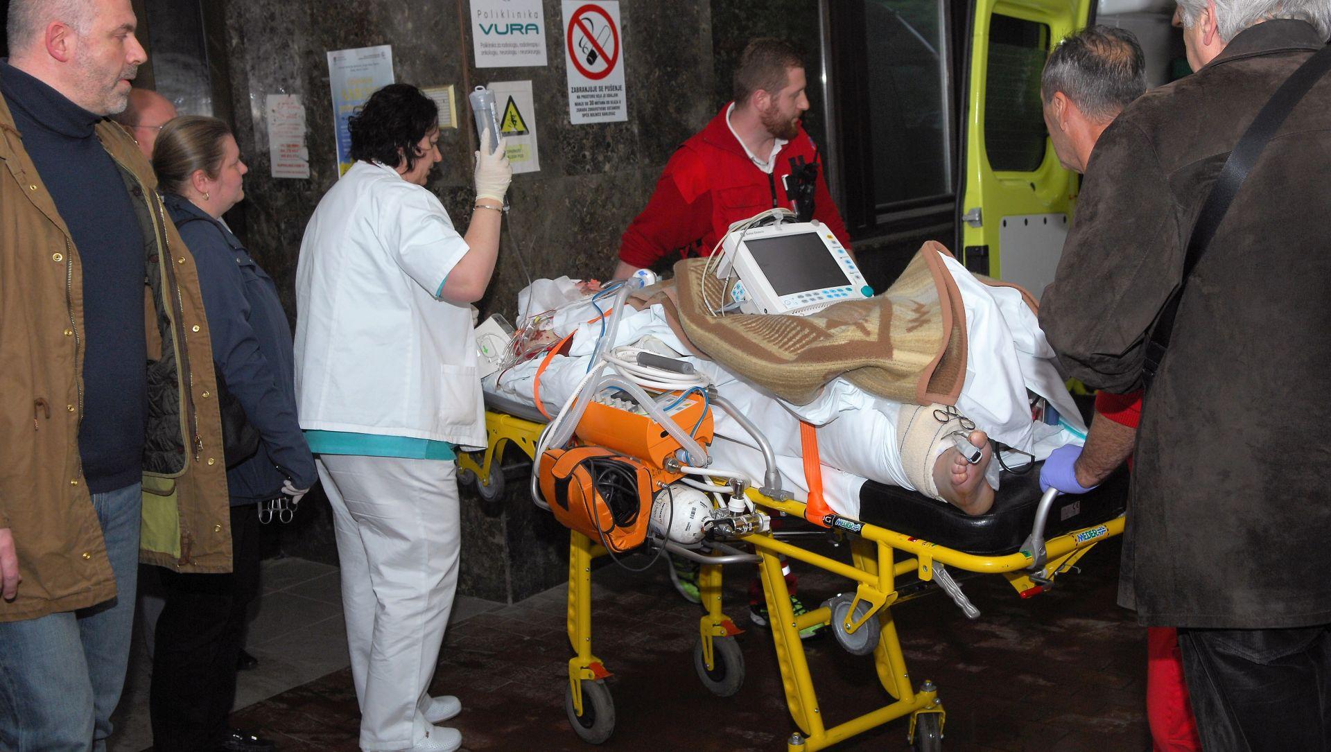 """Ranjenog vojnika večeras iz karlovačke bolnice prevoze u KB """"Dubrava"""""""