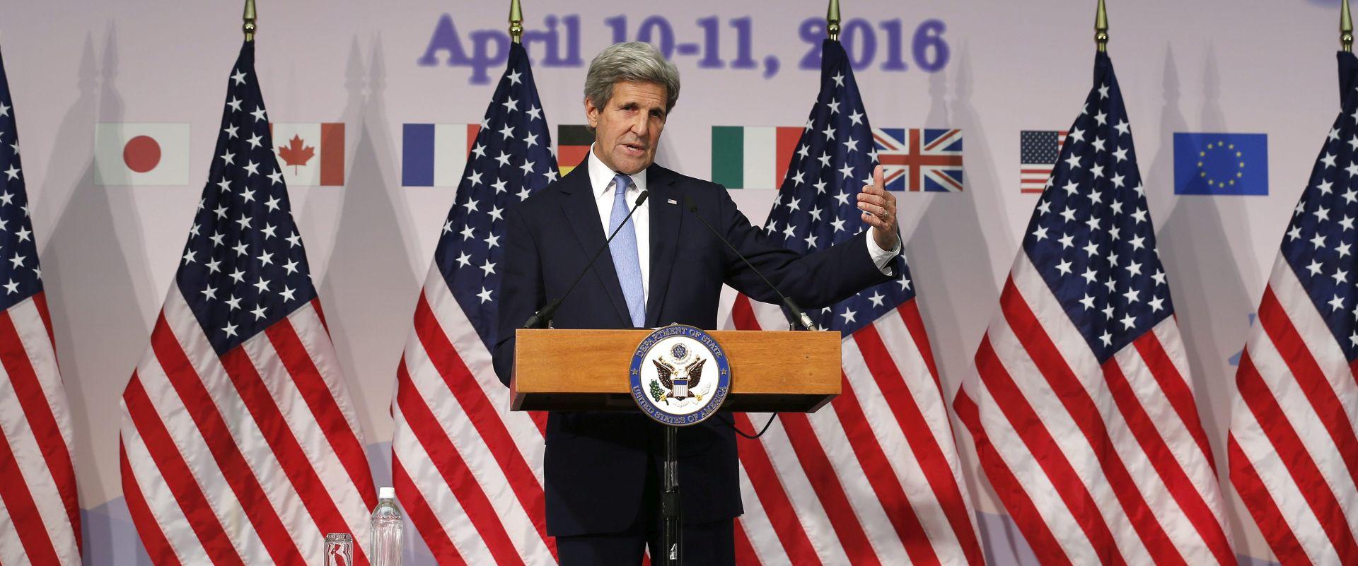 POŠTIVANJE PRIMIRJA: Kerry traži od Lavrova da Damask poštuje primirje