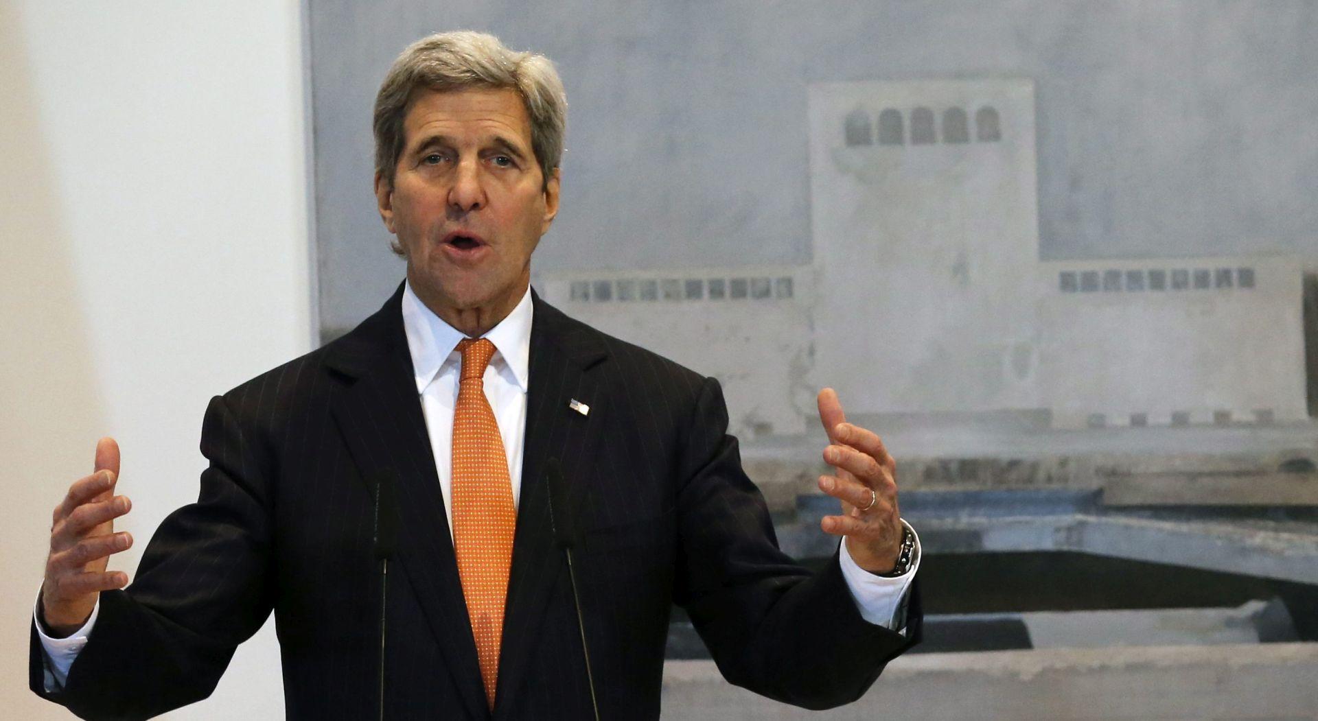 SUKOB U SIRIJI: John Kerry u nedjelju u Ženevi
