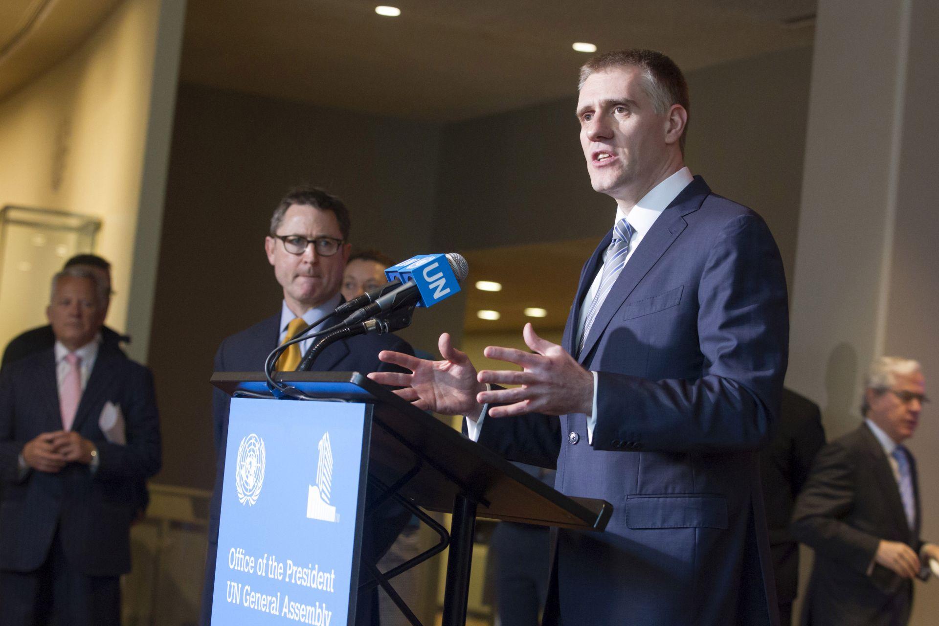 UN: Lukšić prvi od osmero kandidata za nasljednika Ban Ki-moona predstavio svoj program