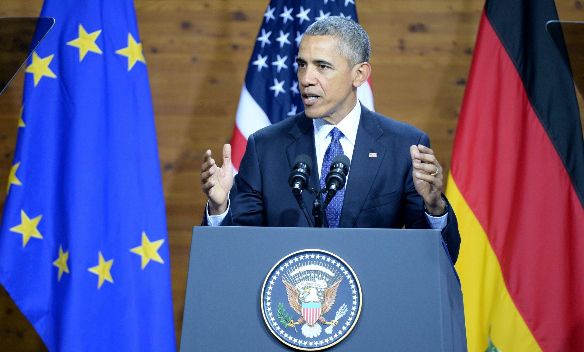HANNOVER: Obama poziva na snažnu i ujedinjenu Europu