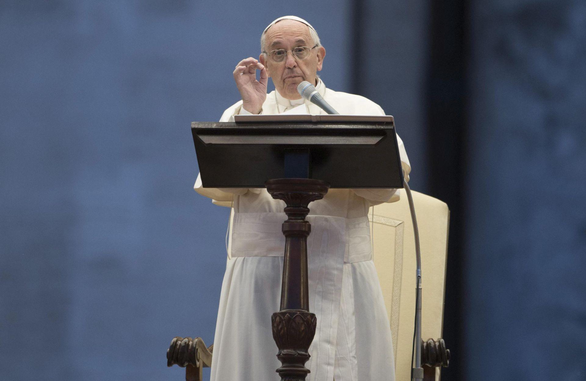 DONACIJE: Papa najavio sakupljanje pomoći za Ukrajinu u europskim zemljama