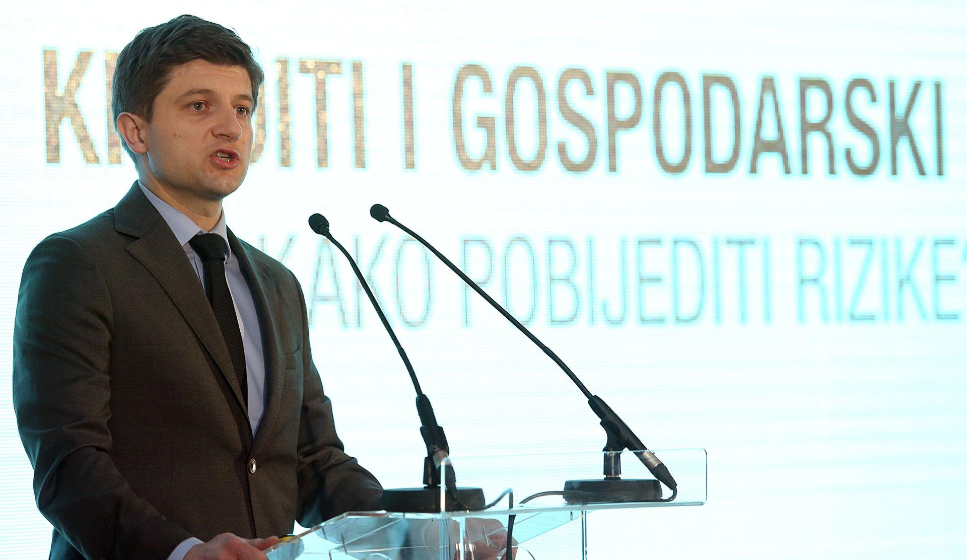 ZDRAVKO MARIĆ 'Ove godine stabilizirati kreditni rejting, ključno i pojačati keditni rast'