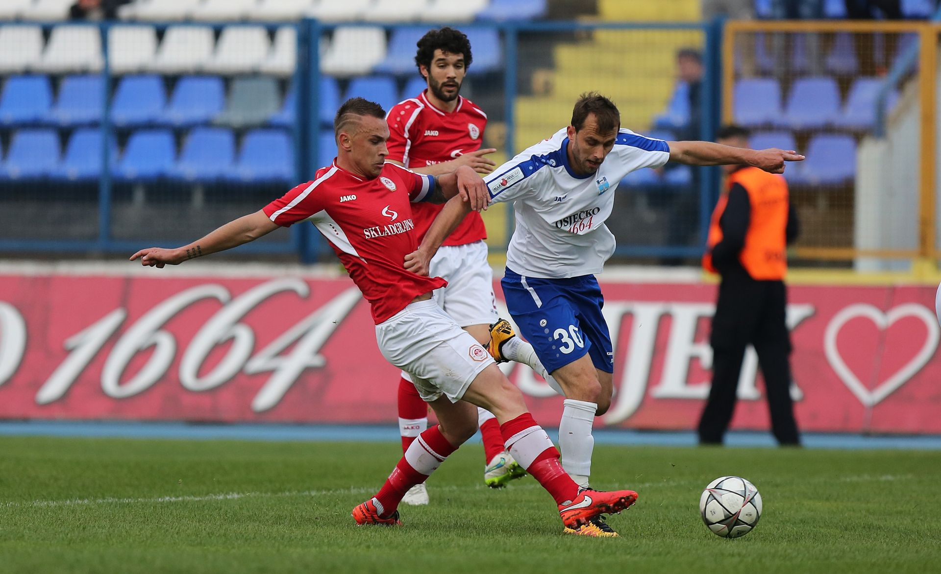 HNL Osijek i Split odigrali bez pogodaka