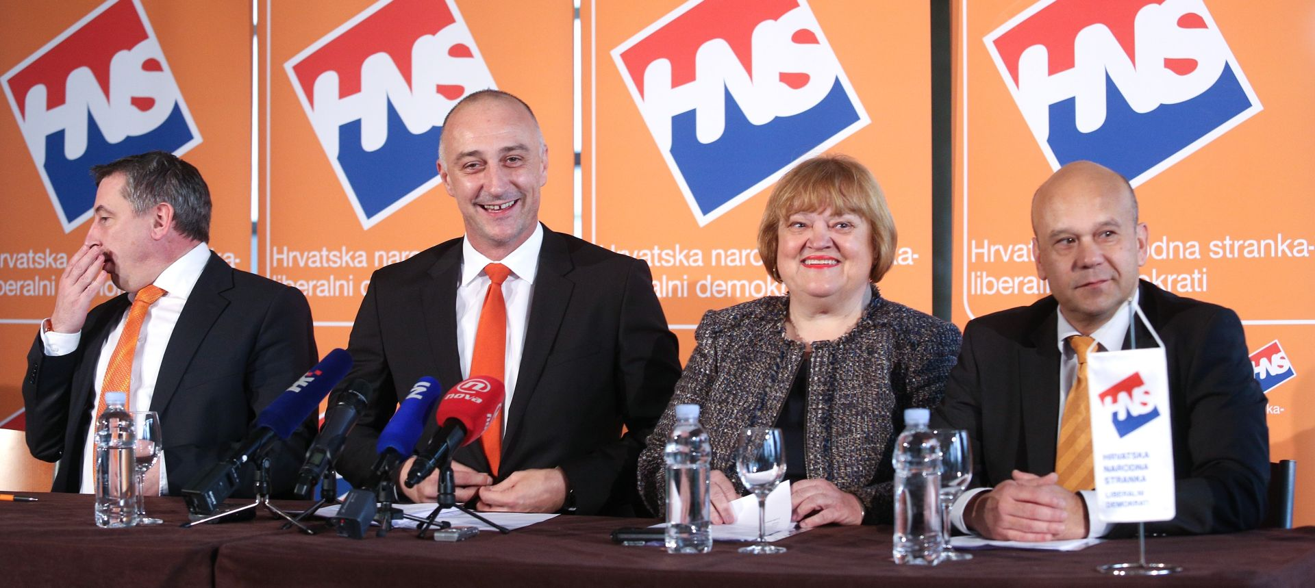 Kandidati za novo vodstvo HNS-a predstavljeni u Zagrebu
