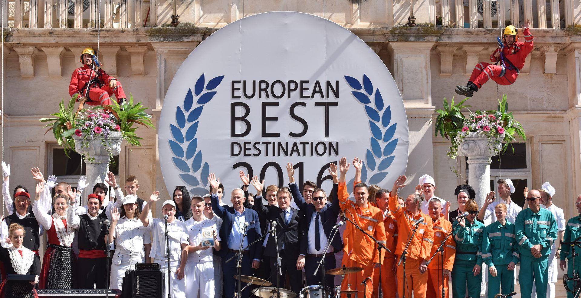 Zadar proslavio titulu europske turističke destinacije godine