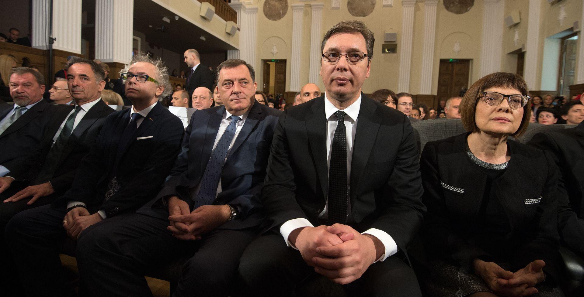 ALEKSANDAR VUČIĆ 'Jasenovac ne zaboraviti, ali ne sanjati osvetu'