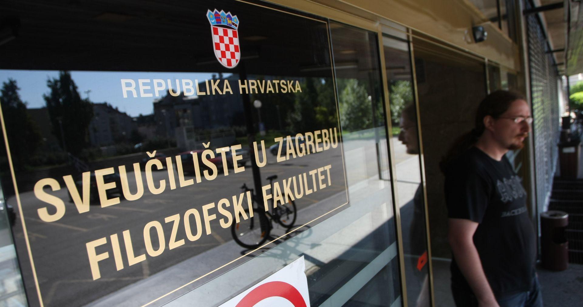 """FFZG Rektor raspustio Studentski zbor, na fakultetu zaštitari, studenti poručuju: """"Poduzet ćemo sve da zaštitimo ugled fakulteta"""""""