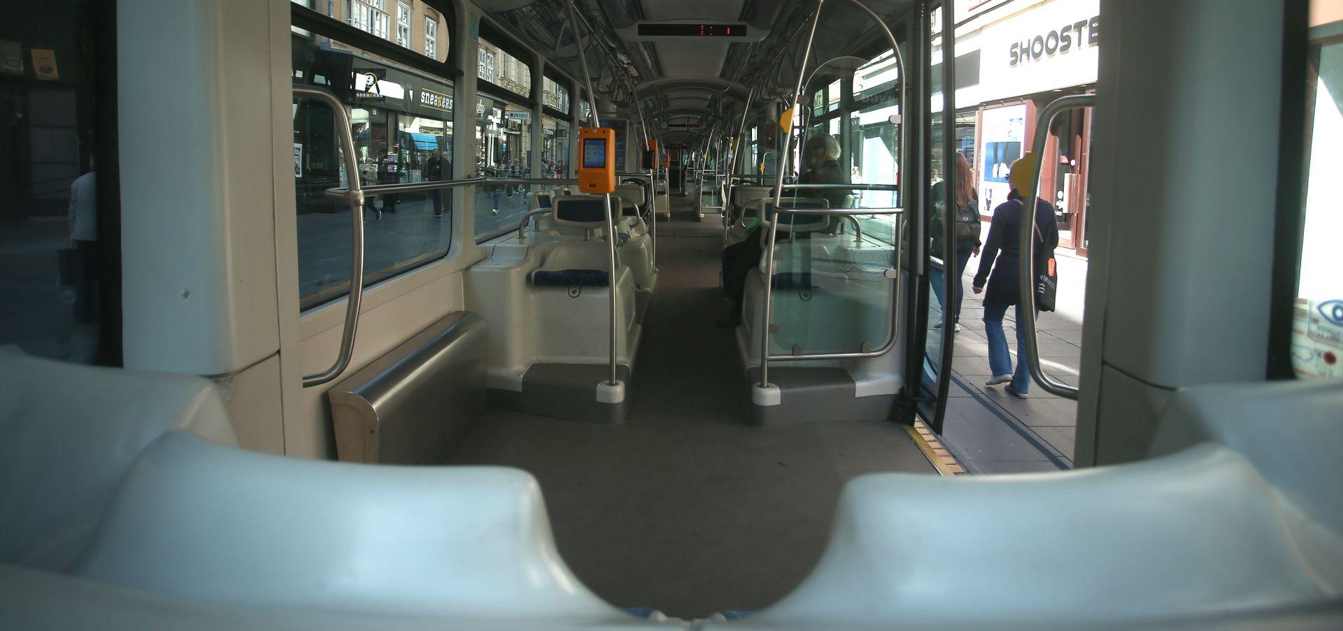 INCIDENT OKO PONOĆI Propucana stakla na dva tramvaja u Maksimirskoj