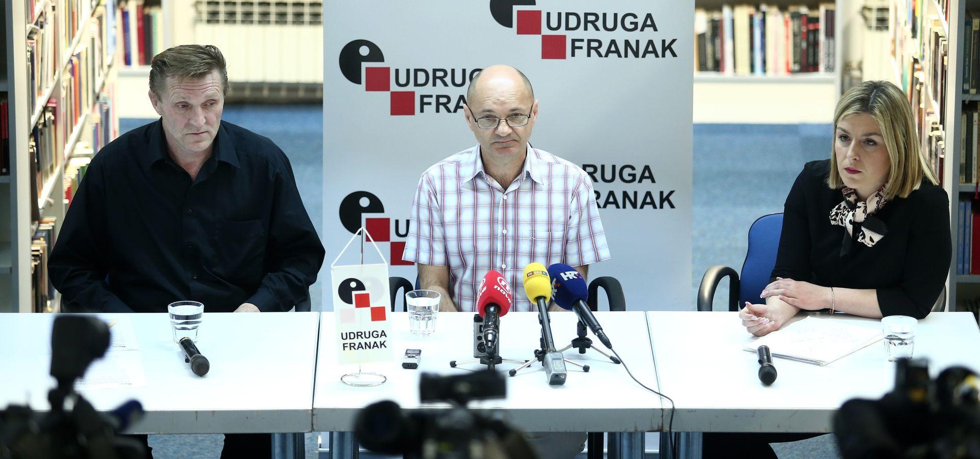 Udruga Franak: Nedodirljivi HNB staviti pod nadzor
