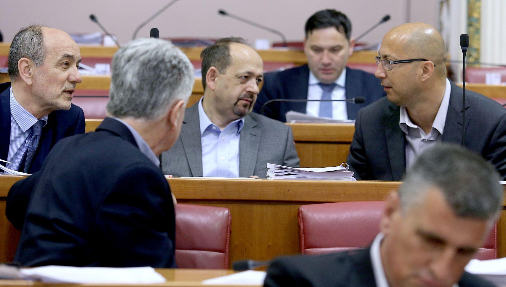 Sabor: Vladajući i oporba nastavili sukob oko Programskog vijeća HRT-a