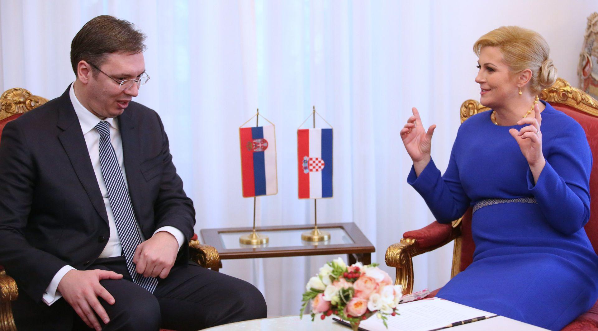 LIST 'DANAS' Vučić u utorak u Mostaru s Grabar Kitarović o blokadi pogavlja 23