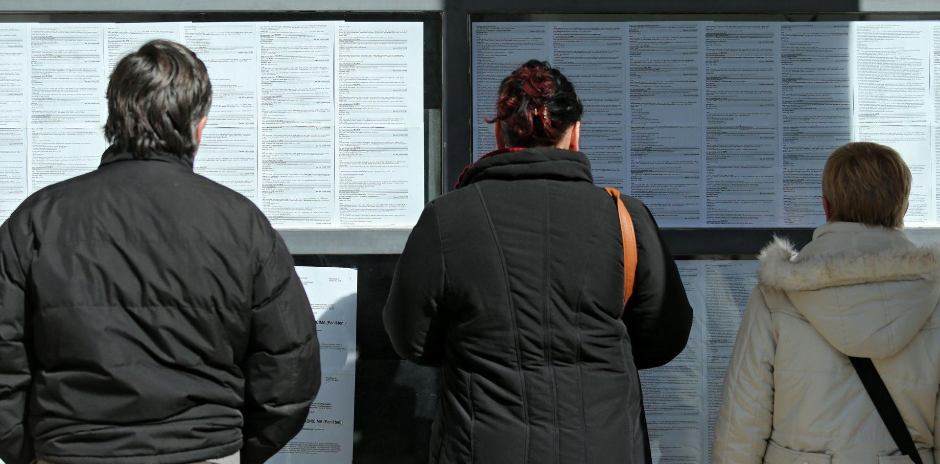 STUDIJA Hrvatska do 2020. godine očekuje povećanje zaposlenosti od 3,7 posto u odnosu na 2014.