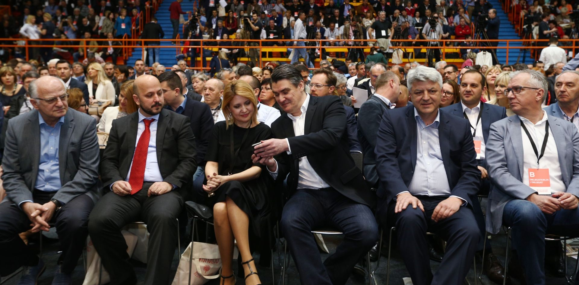 KONVENCIJA SDP-A U DOMU SPORTOVA Pogledajte tko je ušao u Predsjedništvo stranke