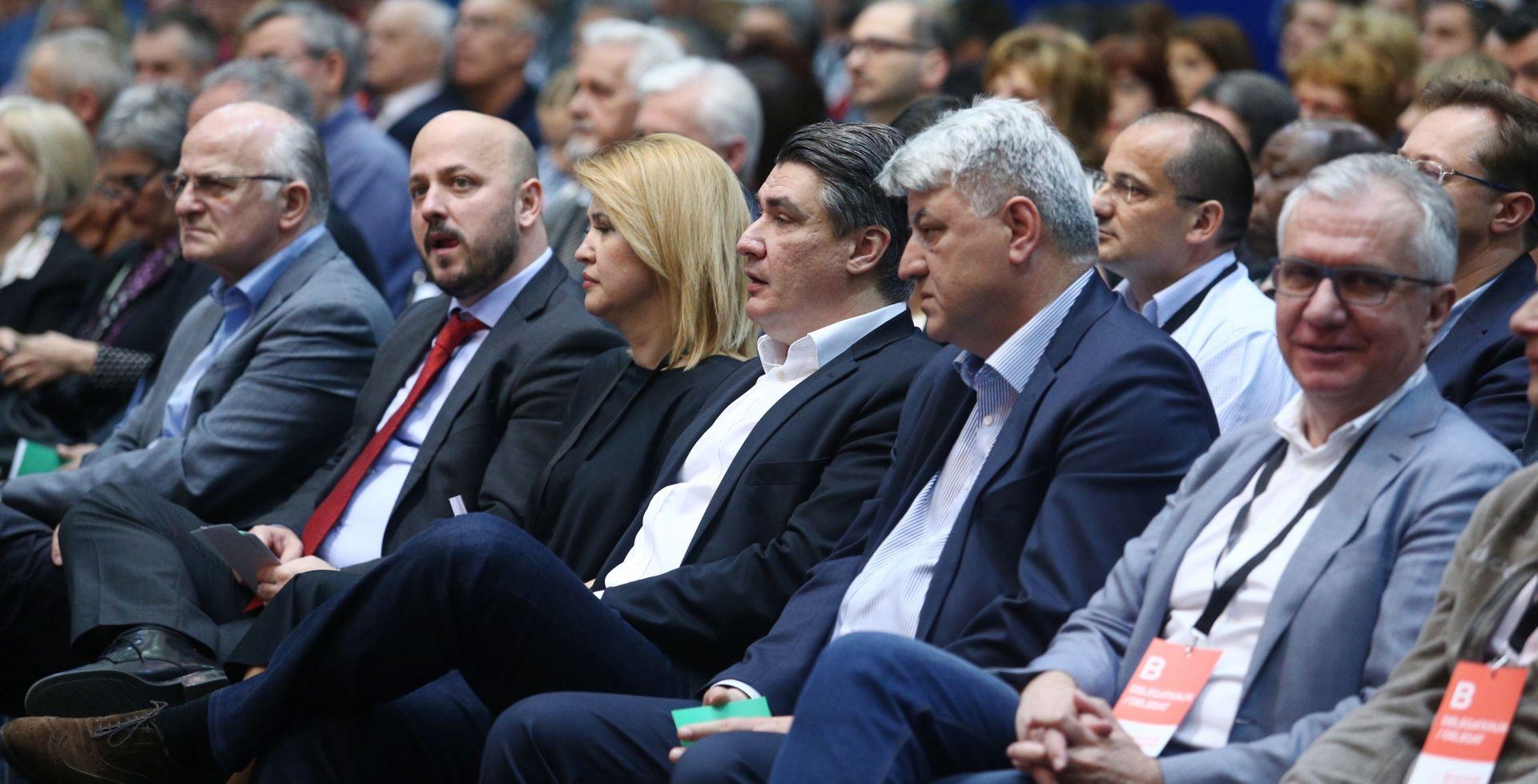 Ostojić, Bernardić, Picula i Opačić novi potpredsjednici SDP-a