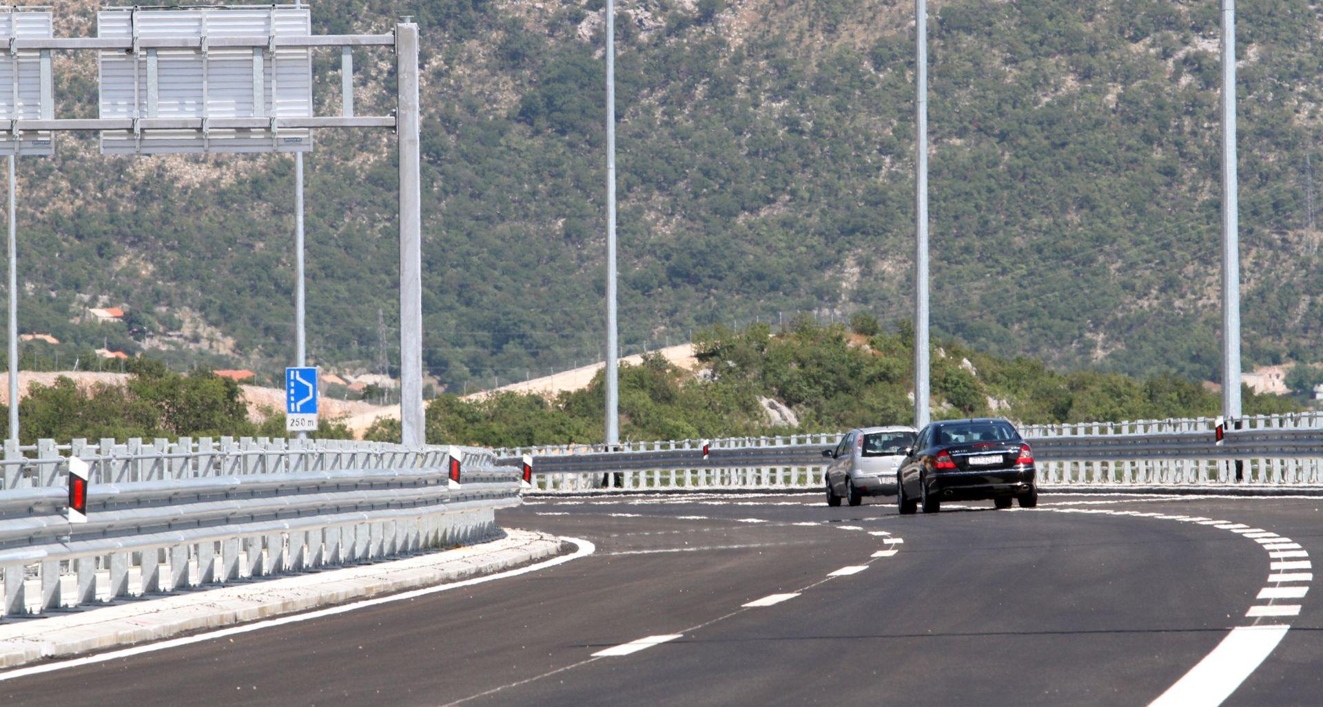 HAK Povoljni uvjeti za vožnju, promet teče bez posebnih ograničenja