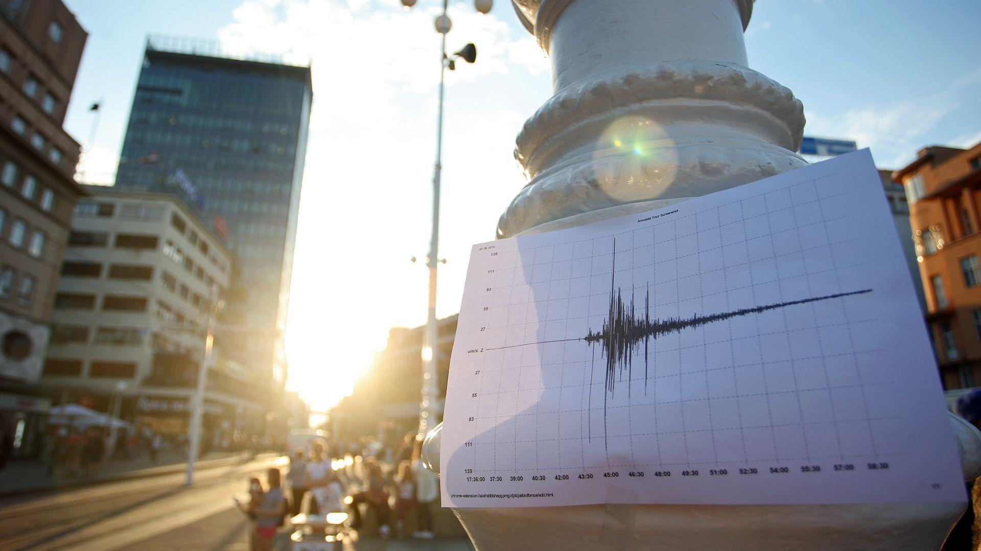 MAGNITUDA 4.1 Potres kod Brežica osjetio se i u Zagrebu