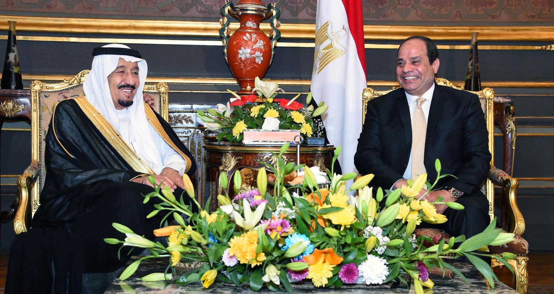 UŠUTKAO MINISTRE: Egipatski predsjednik Sisi branio odluku o predaji otoka u Crvenom moru