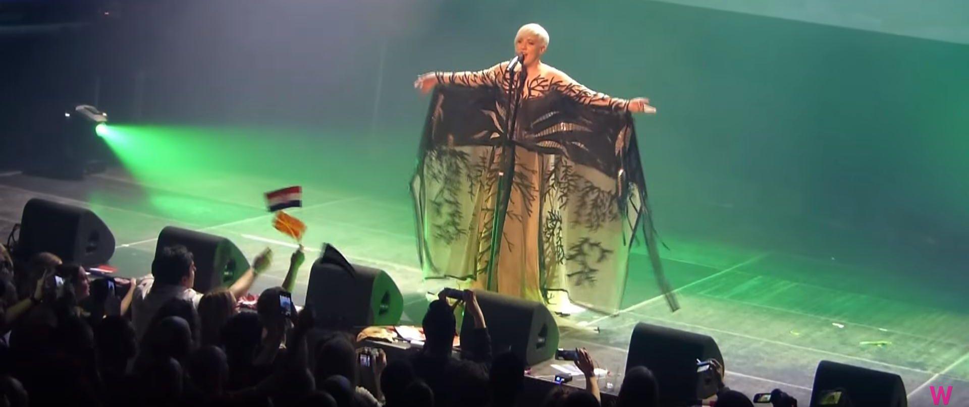 VIDEO: NASTUP U AMSTERDAMU Nina Kraljić oduševila live izvedbom 'Lighthousea'