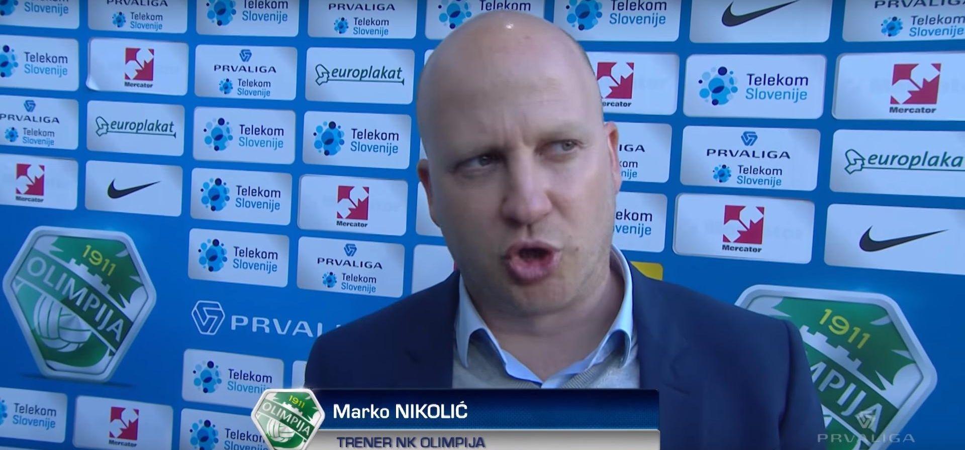 VIDEO: RASISTIČKI ISPAD Marko Nikolić ostaje trener ljubljanske Olimpije