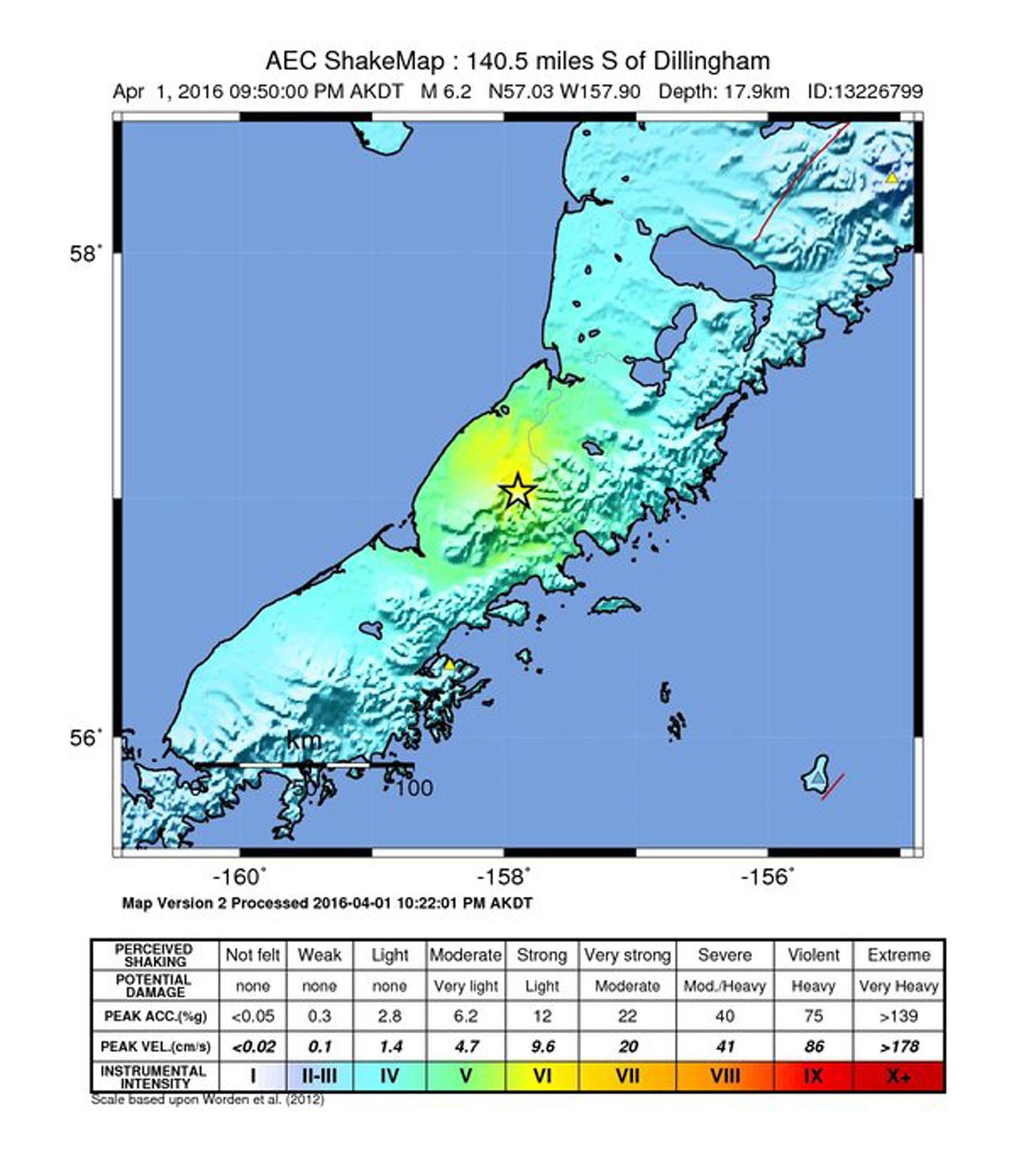 POTRES NA ALJASCI: Nije objavljeno upozorenje na tsunami