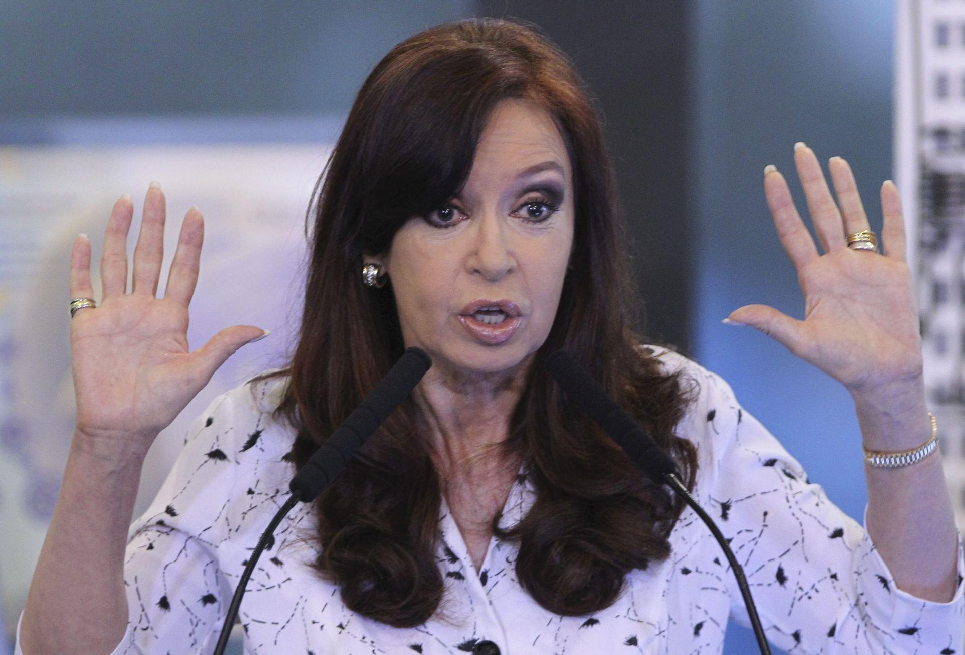 PRANJE NOVCA: Podignuta optužnica protiv bivše argentinske predsjednice