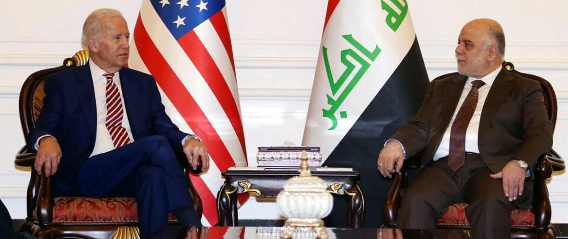 POTPORA VLADI: Joe Biden stigao u nenajavljeni posjet Bagdadu