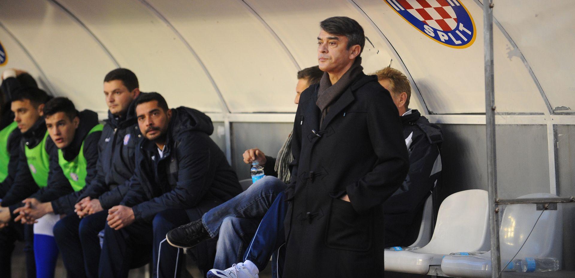 Trener Burić: Šokiran sam događanjima u Hajduku