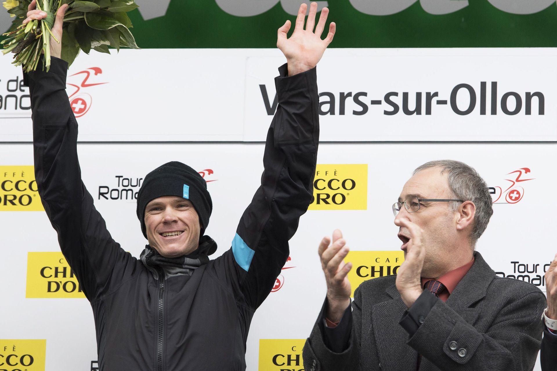 Tour de Romandie: Froomeu etapa, Quintana zadržao vodstvo, Kišerlovski odustao