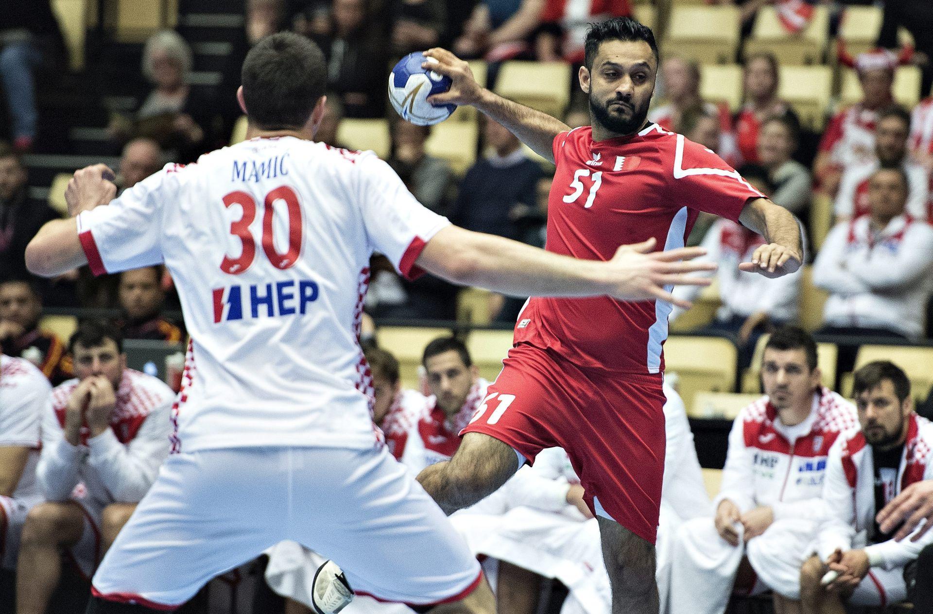 RUKOMET: Hrvatska u drugom poluvremenu razbila Bahrein 33:22