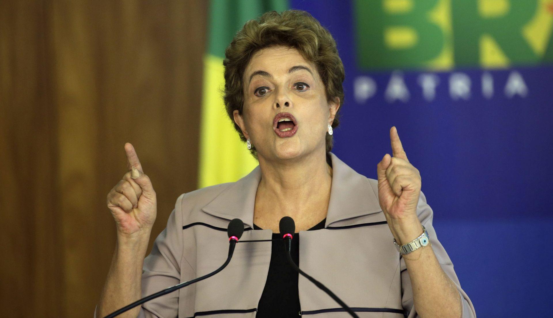 BRAZILSKI KONGRES: Rasprava o opozivu predsjednice Dilme Rousseff