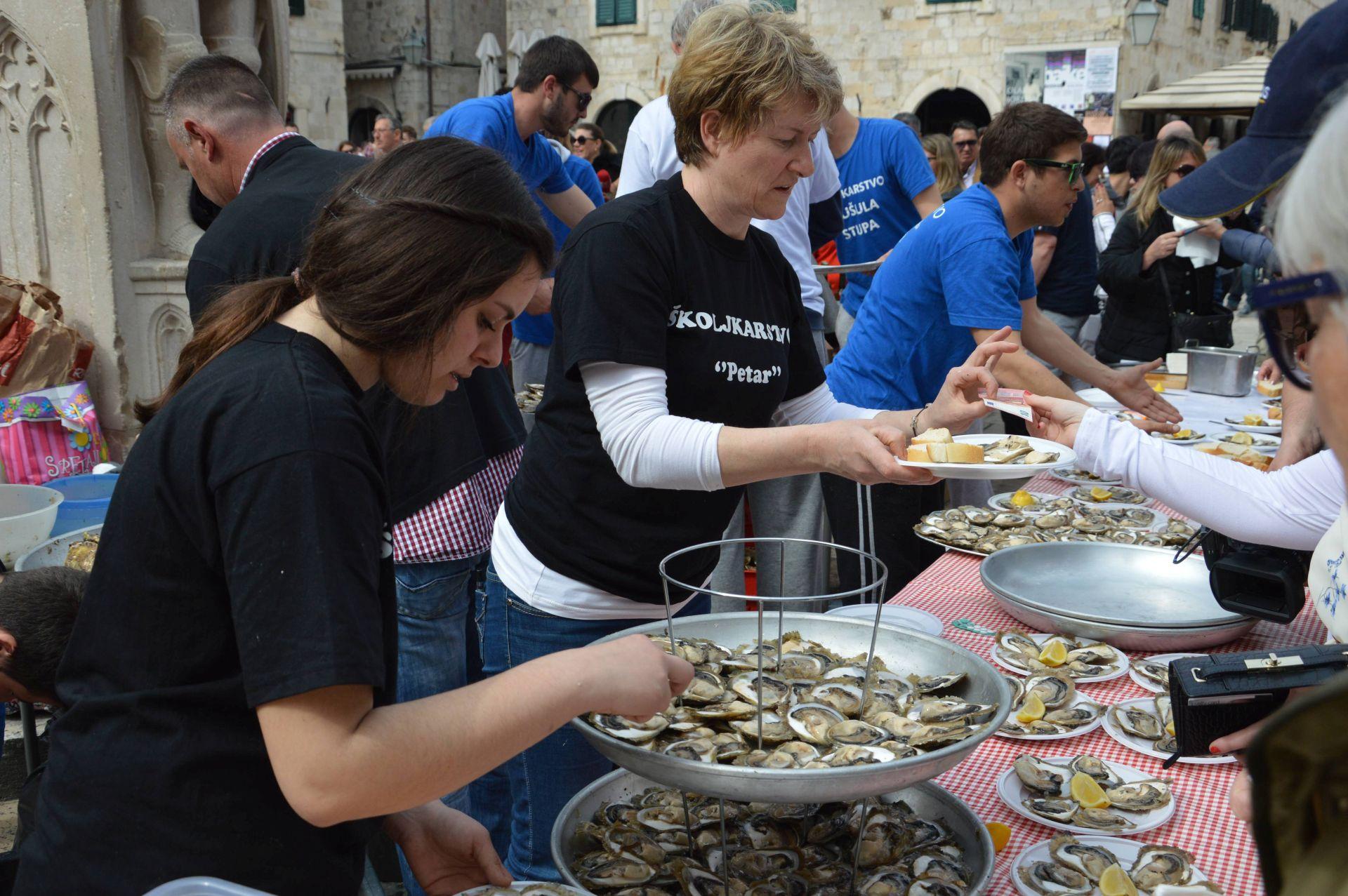 """""""Festa od kamenica"""": U Dubrovniku morska delicija i vina s juga Hrvatske po simboličnim cijenama"""