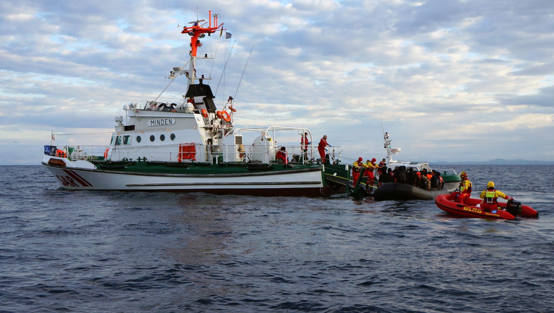 OLUJNO NEVRIJEME: Pet migranata utopilo se u Egejskom moru